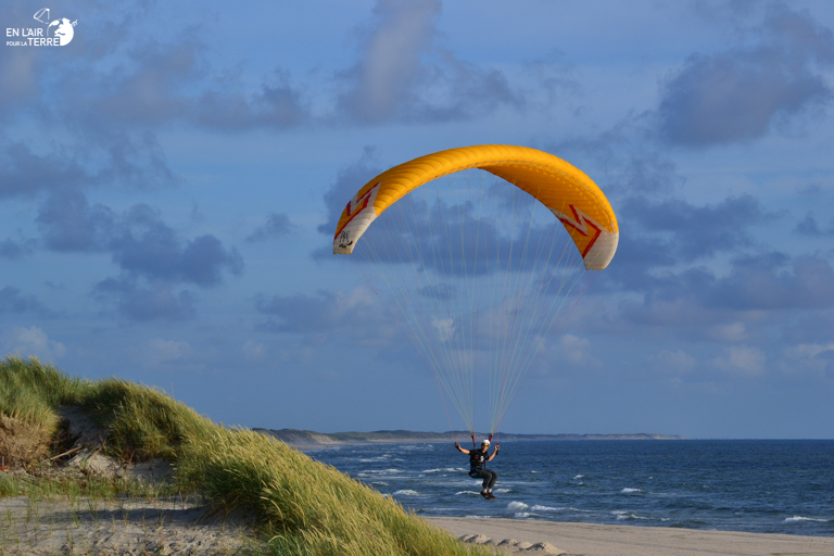 Soaring paragliding to the Denmark