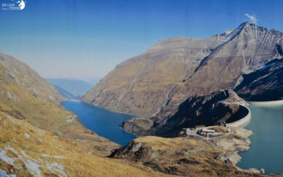 Hiking to the Kaprun dam