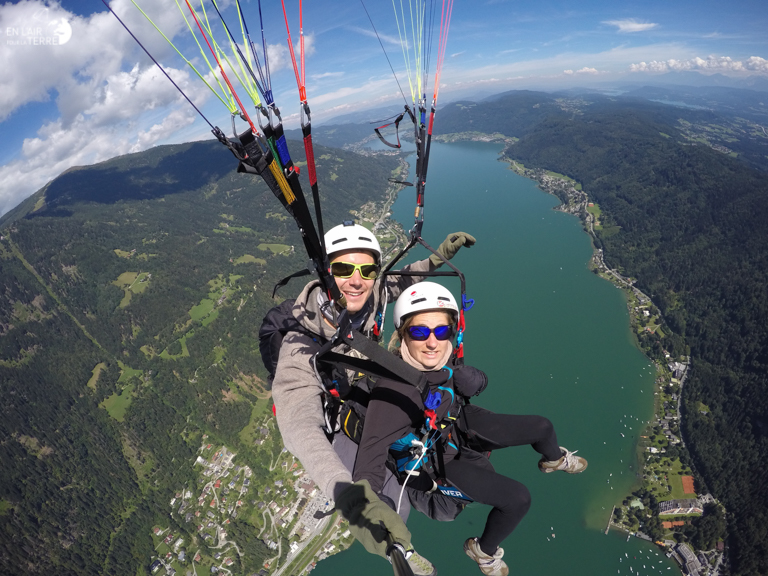 Do the cloudbase in bi above Lake Ossaicher See in Villach