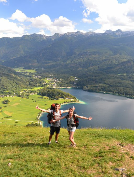 Hike and fly and swim à Bohinj