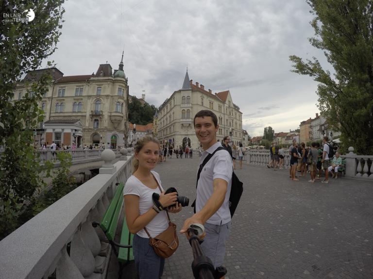 Flaner à Ljubljana