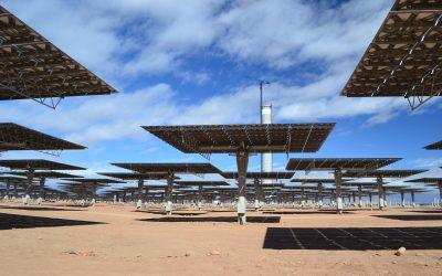 Premiers pas en Afrique avec la visite des centrales solaires de NOOR
