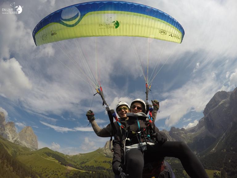 Presentation of paragliding