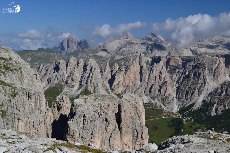 Arriver au Refugio Cavazza al Piscadu après une grosse montée