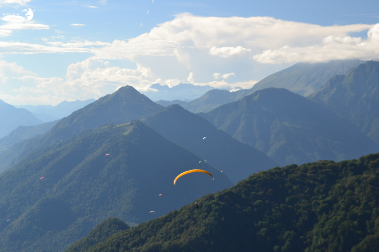 Fly over Tolmin and the magnificent Julian Alps in Slovenia