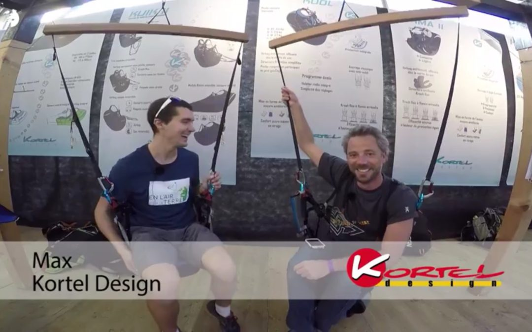 Kortel Design – Sellette de parapente