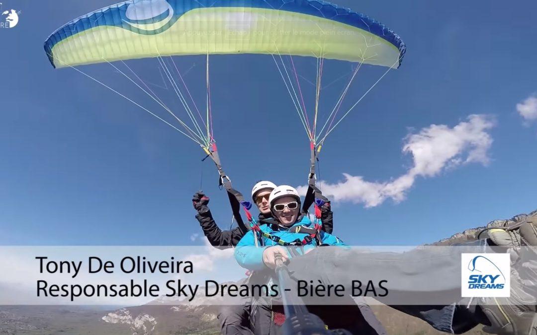 Sky Dreams – Voile de parapente