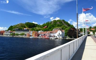Arrivée en Norvège par le Ferry