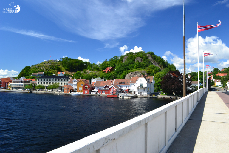 Arrival in Norway by Ferry