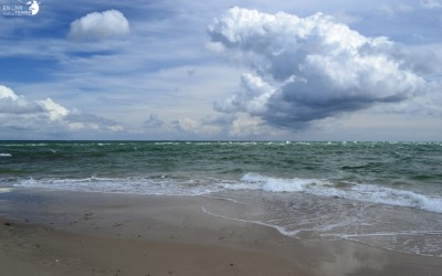 Meeting of two seas at Skagen: Place