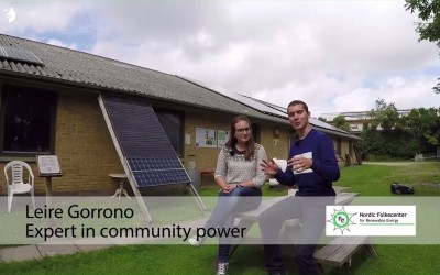What is community power for renewable energy?