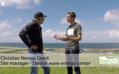 Create electricity through the waves – Danish wave energy center