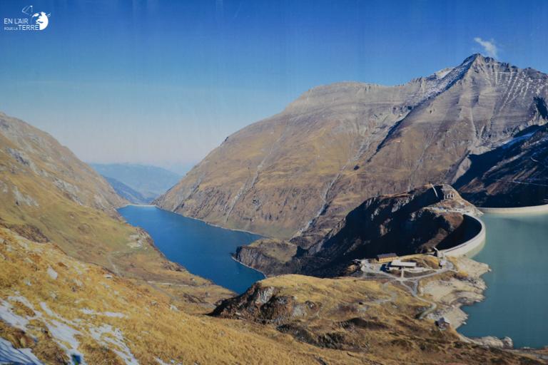 Hiking to the Kaprun dam