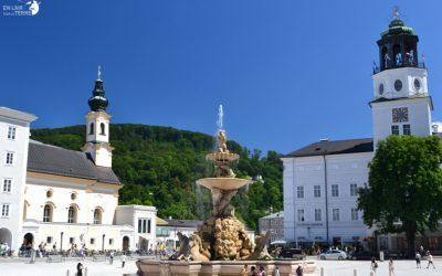 Arriver en Autriche pour visiter Salzbourg et faire le départ de la Redbull x Alpes