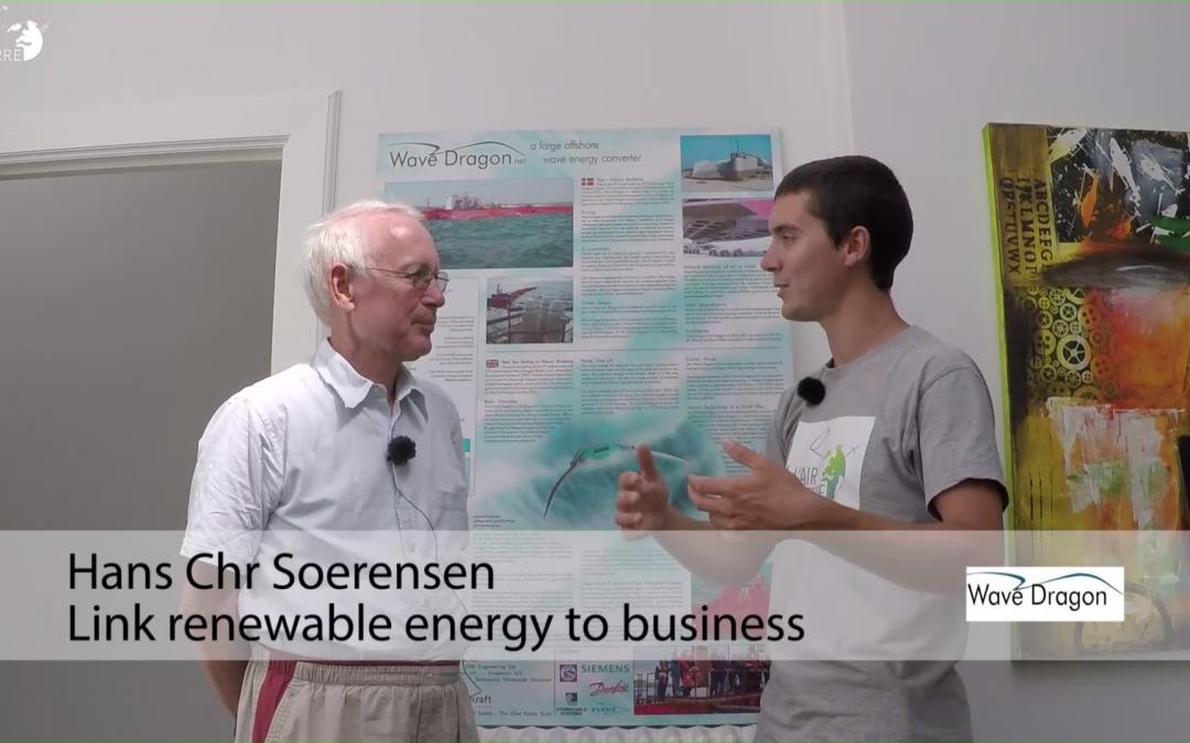 Wave energy Dragon – Copenhagen