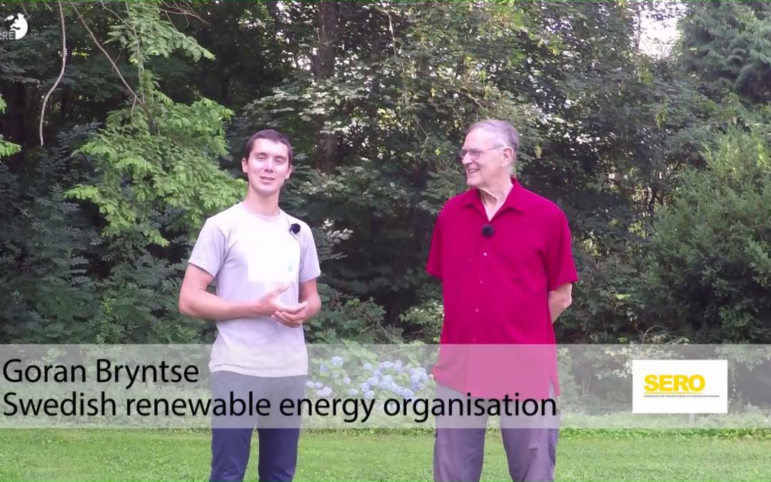 100% renewable energy in Sweden