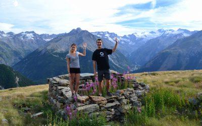 Terminer au Grand Paradiso ce magnifique Tour d'Europe, heureux et optimistes !